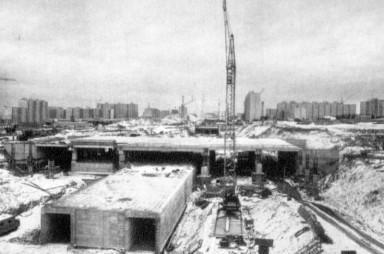 Výstavba metra